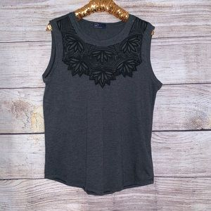 Gap Embroidered Tank